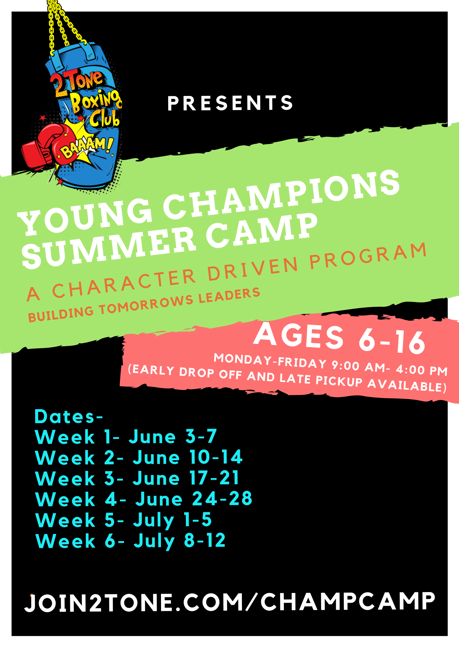 Young Champions Summer Camp